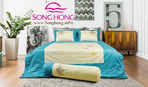 Mẫu chăn ga gối đệm Sông Hồng Home Collection mã H16 - 044