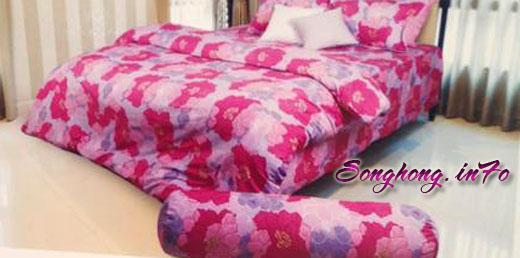 Bộ chăn ga gối dòng Classic mã C14 - C18, vải cotton cho giường 1.8 x 2m