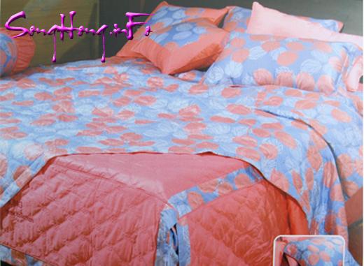 Chăn ga gối Home H11 007, ga chun cho giường 1.8 x 2.0m
