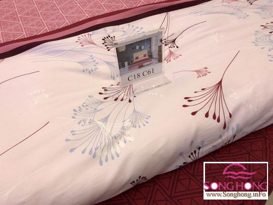 Mẫu chăn ga gối cotton Sông Hồng dòng Classic mã C18-C61