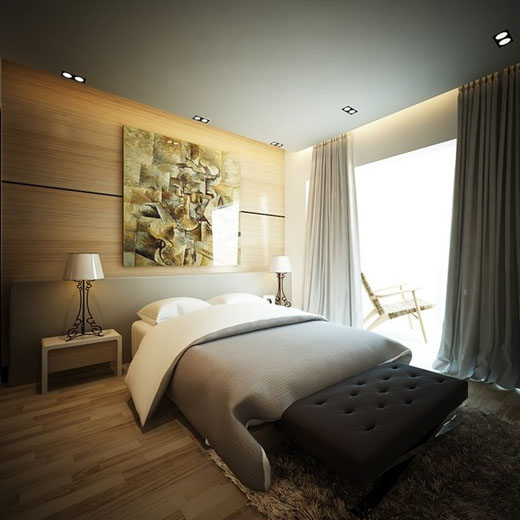 phong cách phòng ngủ của thủy tiên