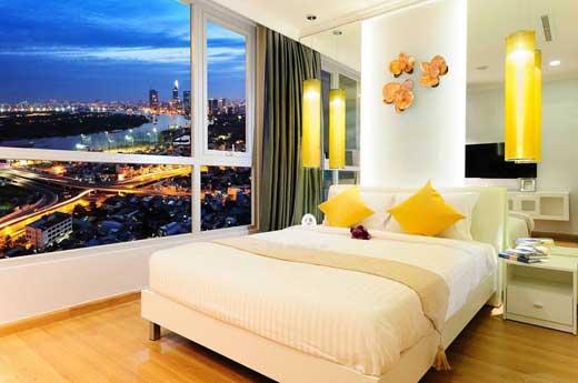 Phòng khách sạn với view cực ấn tượng